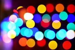 Абстрактная светлая предпосылка Bokeh стоковое изображение rf