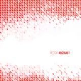 Абстрактная светлая красная и белая геометрическая предпосылка Стоковые Фотографии RF