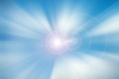 Абстрактная светлая предпосылка движения скорости ускорения Стоковые Фотографии RF