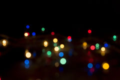 Абстрактная светлая предпосылка Bokeh Стоковые Изображения