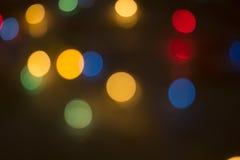 Абстрактная светлая предпосылка Bokeh Стоковые Изображения RF