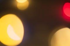 Абстрактная светлая предпосылка Bokeh Стоковое Фото