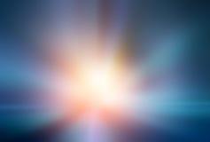 Абстрактная светлая скорость ускорения Стоковая Фотография RF