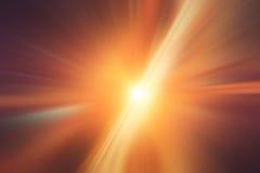 Абстрактная светлая скорость ускорения Стоковое Изображение