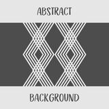 Абстрактная серая геометрическая предпосылка логотипа дизайна формы Стоковые Фото