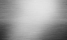 Абстрактная серая отполированная металлопластинчатая предпосылка Стоковые Фото