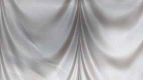 Абстрактная серая сатинировка задрапировывает иллюстрация вектора