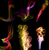 абстрактная серия дыма Стоковая Фотография