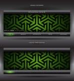 абстрактная сеть вектора знамени Стоковые Фотографии RF