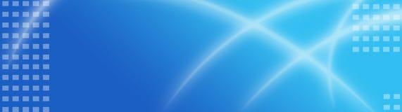 абстрактная сеть коллектора знамени Стоковое Изображение