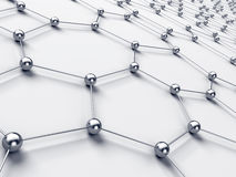 абстрактная сеть соединения иллюстрация вектора