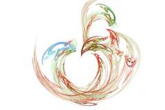 абстрактная сеть яблока Стоковое Изображение RF
