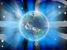 абстрактная сила земли Стоковая Фотография RF