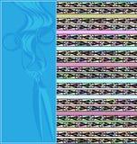 Абстрактная синь покрасила изображение диаграмм ножниц и скручиваемостей бесплатная иллюстрация