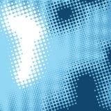абстрактная синь предпосылки ставит точки элементы Стоковые Изображения