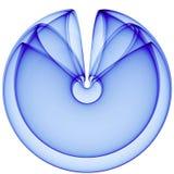 абстрактная синь предпосылки 3d иллюстрация штока