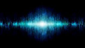 Абстрактная синь предпосылки выравнивателя Стоковое фото RF