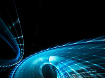 абстрактная синь черноты предпосылки Стоковые Фотографии RF