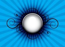 абстрактная синь Иллюстрация вектора