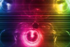 абстрактная система радуги дела предпосылки иллюстрация вектора