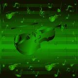 Абстрактная скрипка предпосылки Стоковые Фотографии RF