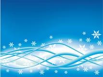 абстрактная снежинка предпосылки Стоковые Изображения RF