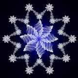 абстрактная снежинка Стоковое Фото