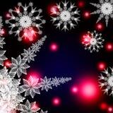абстрактная снежинка Стоковые Фото