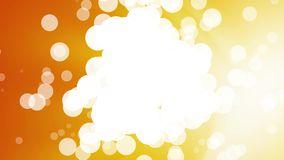 Абстрактная собирая предпосылка апельсина пузырей