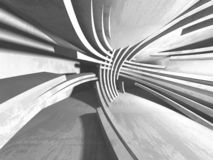 Абстрактная современная белая предпосылка архитектуры иллюстрация штока