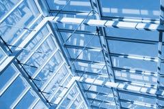 Абстрактная современная высокотехнологичная архитектура Стоковая Фотография RF