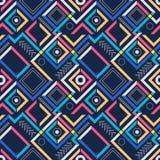 Абстрактная современная геометрическая безшовная картина Стоковое Фото