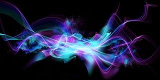 Абстрактная современная предпосылка пламени Стоковое Изображение RF