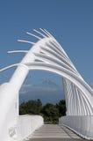 Абстрактная современная скульптура Стоковое Изображение