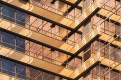 Абстрактная современная часть архитектуры Стоковая Фотография