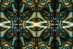 Абстрактная соплеменная картина Стоковые Изображения