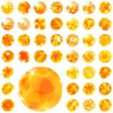 Абстрактная солнечная иллюстрация. Стоковое фото RF