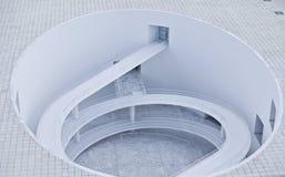 абстрактная спираль зодчества Стоковая Фотография RF
