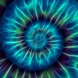 Абстрактная спиральная картина. картина Фибоначчи Стоковое фото RF