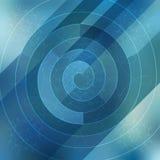 Абстрактная спиральная предпосылка льда Стоковые Изображения