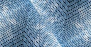 абстрактная стеклянная стена Стоковое Фото