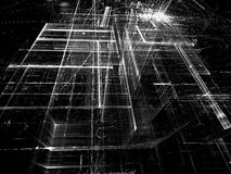 Абстрактная стеклянная структура - цифров произведенное изображение Стоковое фото RF