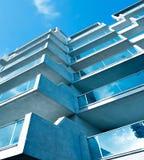 абстрактная сторона стекла здания Стоковое Фото