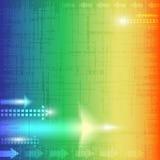 абстрактная стрелка Стоковое фото RF