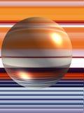 абстрактная сфера конструкции Стоковая Фотография RF