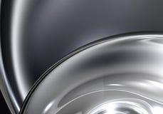 абстрактная сфера chrom 01 Стоковые Изображения