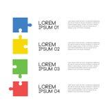 Абстрактная схематическая головоломка для вашего текста образца Стоковые Изображения