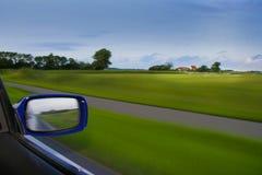 Абстрактная съемка с автомобиля Стоковые Фото