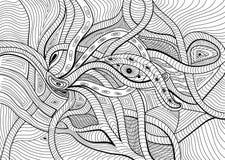 Абстрактная сюрреалистическая предпосылка вектора Стоковые Фото