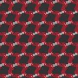Абстрактная сложная картина объекта на черной предпосылке Стоковые Фото